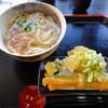 さぬきうどん花麦 - 料理写真:天ぷらつきかけうどん