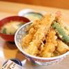 豊川 - 料理写真:ランチの天丼@700円