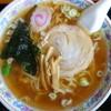 ハトヤ分店 - 料理写真:ラーメン(¥550税込み)スープは豚と煮干しがメインでしょう