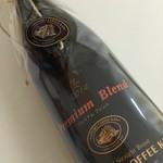 サッポロ珈琲館 - 赤ワインの様なボトル珈琲♬
