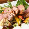 ダ ファビオ - 料理写真:鴨胸肉のステーキ バルサミコソース