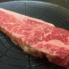 楽亭 - 料理写真:あいかわらずの極厚ステーキ