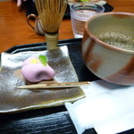里房 - 料理写真:野点(のだて)コーヒー 生菓子付き 650円