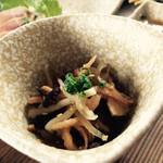 塚原の里 - 地鶏定食 小鉢