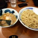 麺や葵 - つけ味玉(880円)大盛(100円)