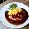 ハaハaハa - 料理写真:一番人気の卵たっぷりオムハハハヤシライス