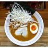 細麺三太 - 料理写真:「辛味噌ラーメン+ネギ」(2014.12)