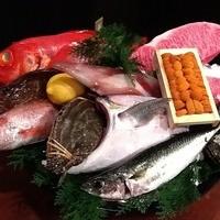 オススメ食材の魚かご♪
