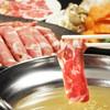 ジンギスカン おはな - 料理写真:当店名物スープラムしゃぶ!