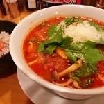 35396308 - トマトスープ麺