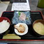 具魯烏葡 - ノドグロ炙り刺定食¥980