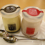 CAFE NORTE Sapporo - 酪農チーズプリンと北海道いちごプリン