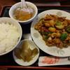 華龍飯店 - 料理写真:鶏肉の四川風炒め:800円