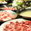 ジンギスカン おはな - 料理写真:人気のしゃぶしゃぶコースもあります!