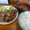 山ちゃん食堂 - 料理写真:焼肉定食