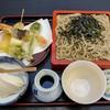 そば処三浦屋 - 料理写真:天使の海老天ざるそば