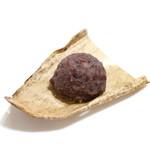 梅ぞの - 料理写真:栗おはぎ (250円ほど) '15 1月上旬