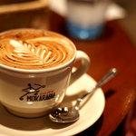 カフェ・カトル・ヴァン・ヌフ - リーフが美しいですね