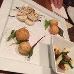 ノヴェッキオ - 前菜三種盛り
