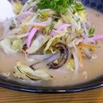 てるのちゃんぽん亭 - 野菜大盛りチャンポン