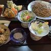 平尾屋 - 料理写真:車海老の天ざるそば
