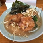 吉六家 - 料理写真:ネギラーメン