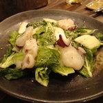 樽屋 - 水ダコと白菜の塩だれサラダ