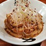 35474786 - あぶら麺(680円)