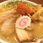ちゃーしゅうや武蔵 - からし味噌ちゃーしゅうめん(辛味多め) 920円