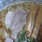 お食事 松月 - 中華そば¥600