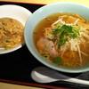 上海キッチン 豪華 - 料理写真:ラーメンセット