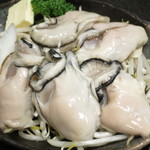 もんじゃ 蔵 - 鉄板焼き 牡蠣バター焼き