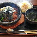焼肉おがわ - 石焼ビビンバ定食