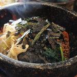 焼肉おがわ - 石焼ビビンバ