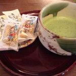 こいまり - 抹茶セット600円