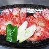快 - 料理写真:霜降り上カルビ(写真2人前)…1人前1080円