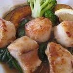 ロイヤルホスト - ホタテと赤松鯛のジュージュー焼