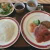 フォンテン・ド・芝 - 料理写真:豚肩肉の煮込み&ビーフコロッケ