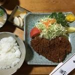 かつ善 - ロース定食