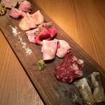 ニクスペシャリテ・マクラ - 料理写真:肉盛り