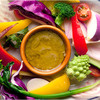 ブリアンツァ6.1 - 料理写真:有機野菜のバーニャカウダ