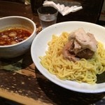 つけそば 黒門 - 肉「麻辛丸」(880円)