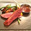 カフェ ガーブ - 料理写真:かも胸肉のロティ、オレンジのソースで。