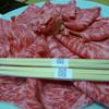 那須温泉 山楽 - 料理写真:2015年2月 栃木の高級和牛でしゃぶしゃぶ