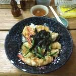 35548932 - 天丼(海老4尾)