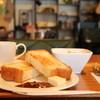 カフェ グリーン - 料理写真:AM8:00 モーニングでいただいたトーストセット