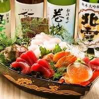 新潟産地直送食材!鮮魚や入手困難な地酒を是非御賞味下さい。