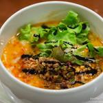 蔭山 - ~名物!~鶏白湯スープ 担々麺【2015年2月】