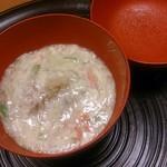 一直 - 海老芋の碗物です。子孫繁栄、大変に縁起が良いですね~