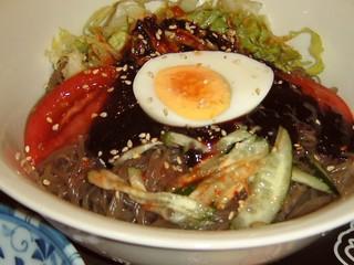 パラグアイ&韓国の屋台 友(チング) - 辛~い「冷麺」アップ画像!